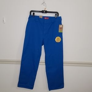 Dickies Cropped Blue Pant 9 NWT